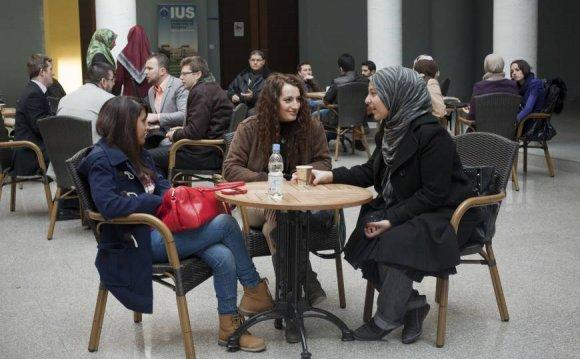 Talking shop: Students