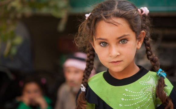 Meet Syrian children living in