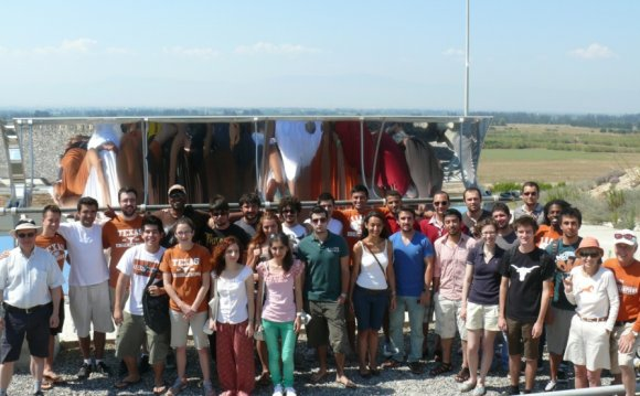 A group of students from METU