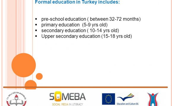 Formal education in Turkey