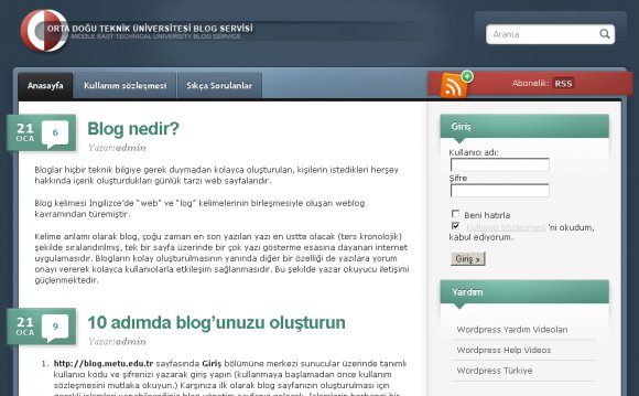 Your METU mail) and voila