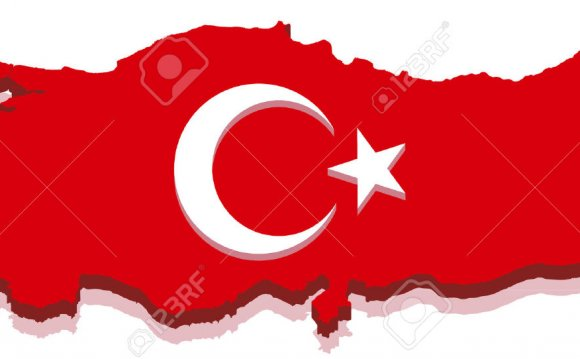 Turkish: Turkey Map with