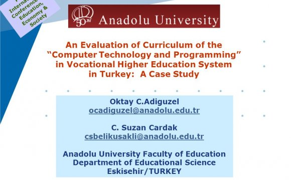Vocational and Technical education in Turkey